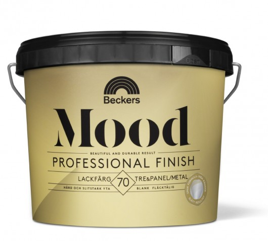 Mood Pro Finish Lackfärg 70 Blank